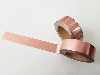 Bandă adezivă Washi Tape Rose Gold