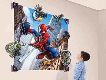 Fototapet 3D Spider Man Pop Out Decoration