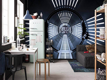 Fototapet 3D Star Wars Tunnel