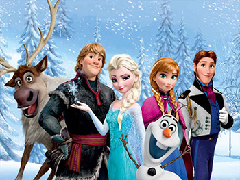 Fototapet Frozen Friends