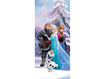 Fototapet Frozen Magic snow