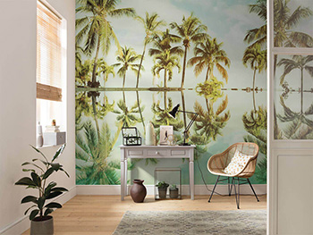 Fototapet peisaj tropical Key West, Komar, verde, 400x250 cm