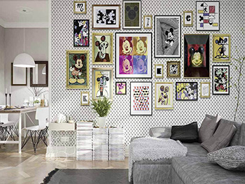 Fototapet vlies Mickey Mouse Art Collection