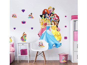 Mega Sticker Prinţesele Disney