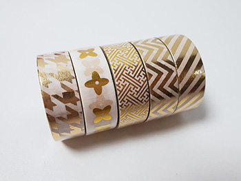 Set 5 Washi tape Design