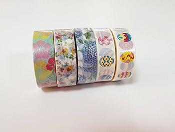 Set 5 washi tape Easter pack