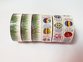 Set 6 washi tape Easter pack