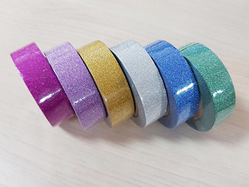 Set 6 Washi Tape Glitter