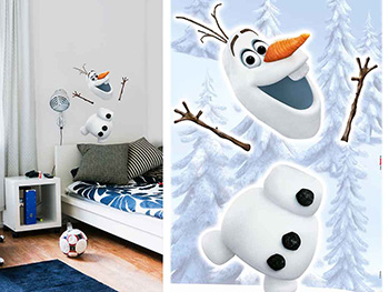 Sticker Frozen Olaf