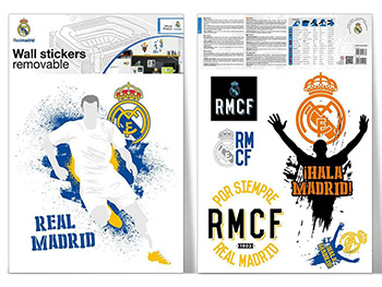 Sticker logo Real Madrid Urban, Imagicom, autoadeziv