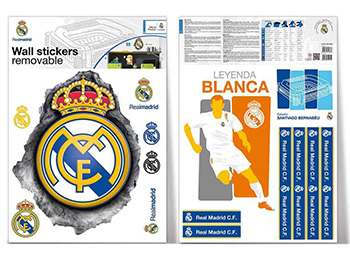 Sticker logo Real Madrid, Imagicom, autoadeziv