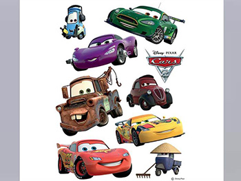 Sticker maşini Cars 2