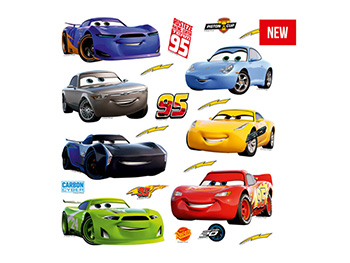 Sticker maşini Cars 3