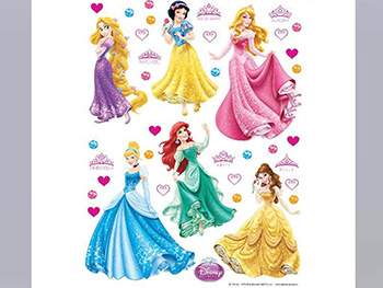 Sticker Prinţese Disney