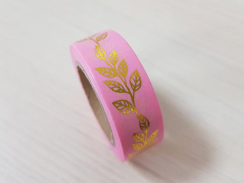 washi-tape-roz-cu-frunze-aurii-5103