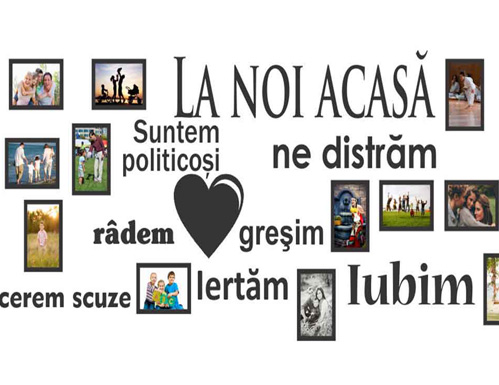 Sticker Decorativ Acasă